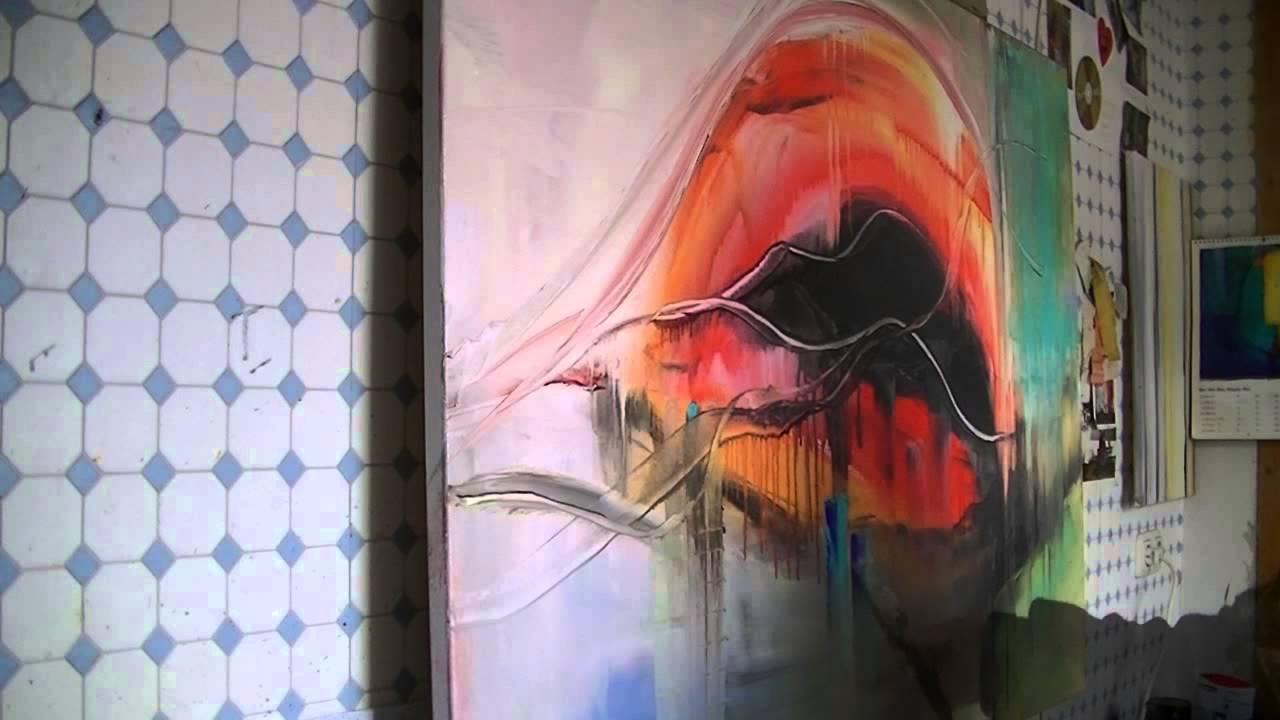 Helle Farben Farbige Schattierungen Und Markierungen Abstrakte