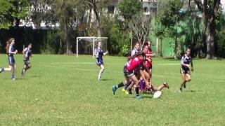 Feminino M16 2019 | SESI Jacareí Rugby Vermelho x SPAC A | Torneio SPAC