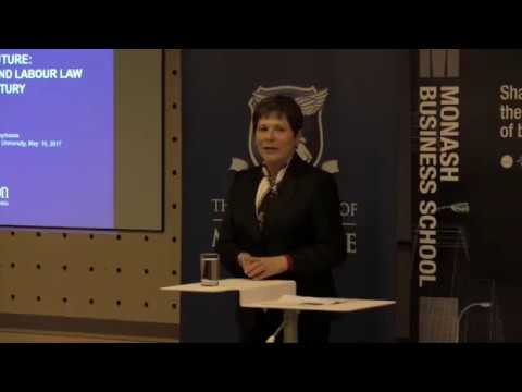 Isaac Symposium: Workplace Relations & Labour Law, Janice Bellace