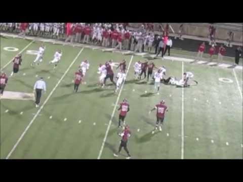 Delbert (DJ) Mitchell (6'8 380lb) Liberty Eylau High School Highlights - Sr. 2012