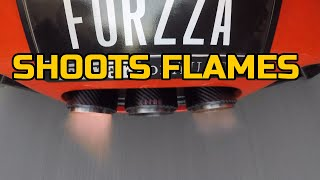 FLAME SHOOTING EAR SHATTERING MONSTER FERRARI 458 with KLINE INCONEL EXHAUST