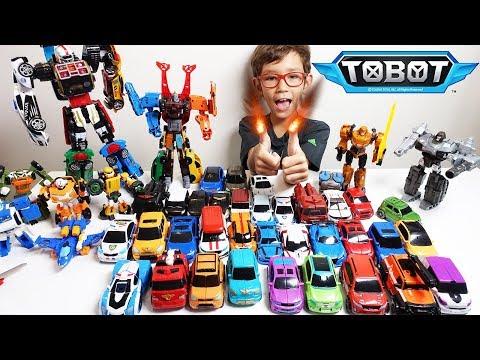 ТОБОТЫ Вперёд! Трансформируем ТОБОТЫ игрушки из мультика Челлендж Тоботы и Трансформеры новый сезон