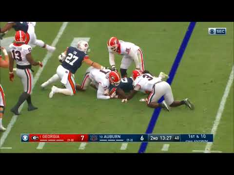 2017 - Georgia Bulldogs at Auburn Tigers in 30 Minutes