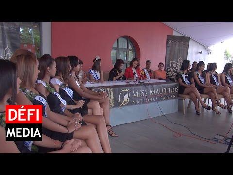 Miss Mauritius 2016  - présentation des 12 candidates