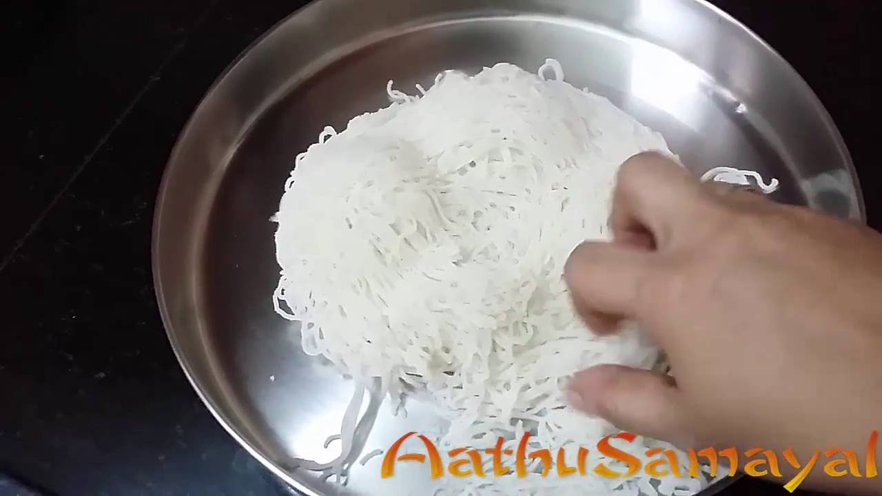 How to Make Idiyappam