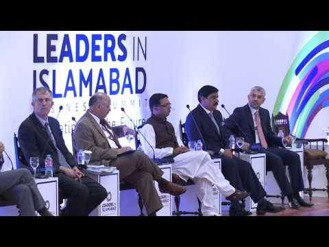 Talk by  Pathfinder Group's Chairman Ikram Sehgal @ LEADERS IN ISLAMABAD