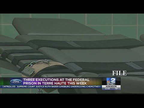 Three Executions At Federal Prison In Terre Haute