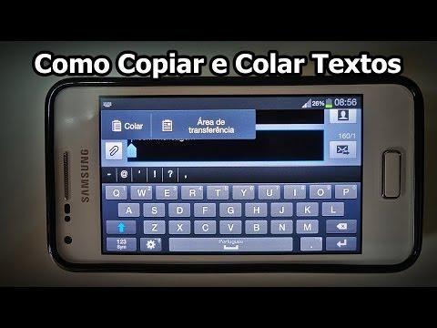 Como Copiar e Colar Texto no Celular - DICA