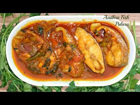 Andhra Fish Pulusu|Tilapia Fish Curry