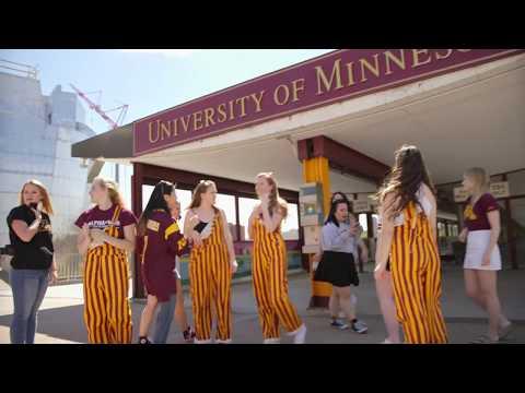 University of Minnesota Alpha Gamma Delta Recruitment Video 2017