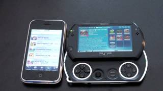 iPhone (and iPod Touch) Vs. PSP Go: Round 1