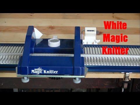 White Magic Knitter Replacing the Needles - YouTube