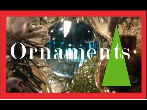 Ornaments and Christmas Balls on a Christmas tree | Christmas Decorations