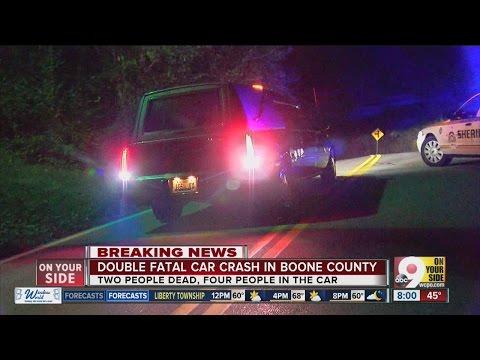 2 dead, 2 injured in Hebron, Kentucky crash
