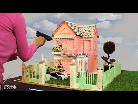 Eye-Catching Cardboard House | How to Make Paper Home | DIY Project