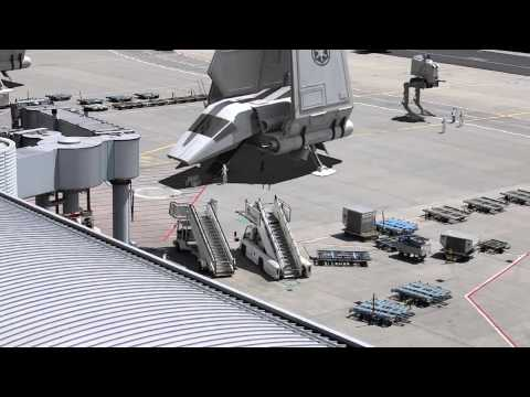 Leaked Star Wars Episode VII Filmset Footage!