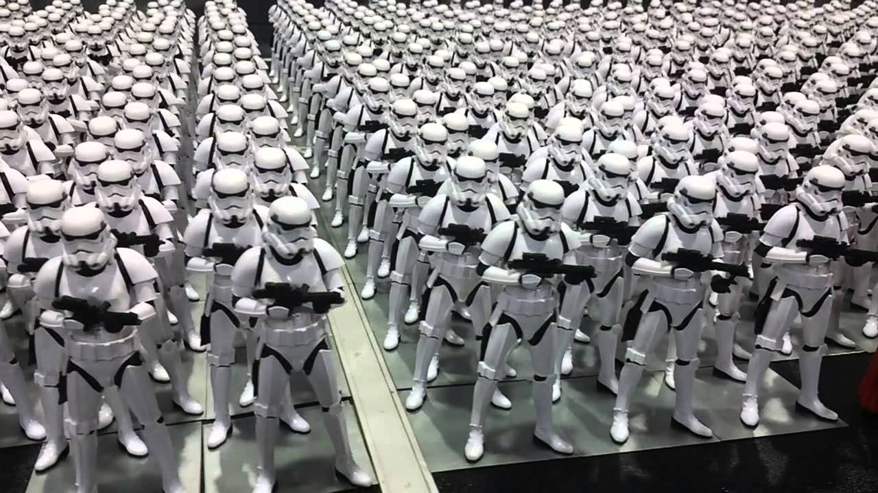1 000 Awesome Imperial Stormtrooper Action Figures In One