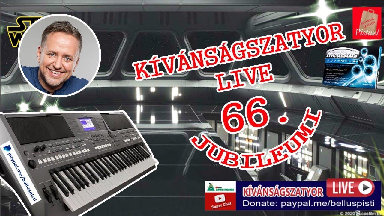KÍVÁNSÁGSZATYOR LIVE 66.