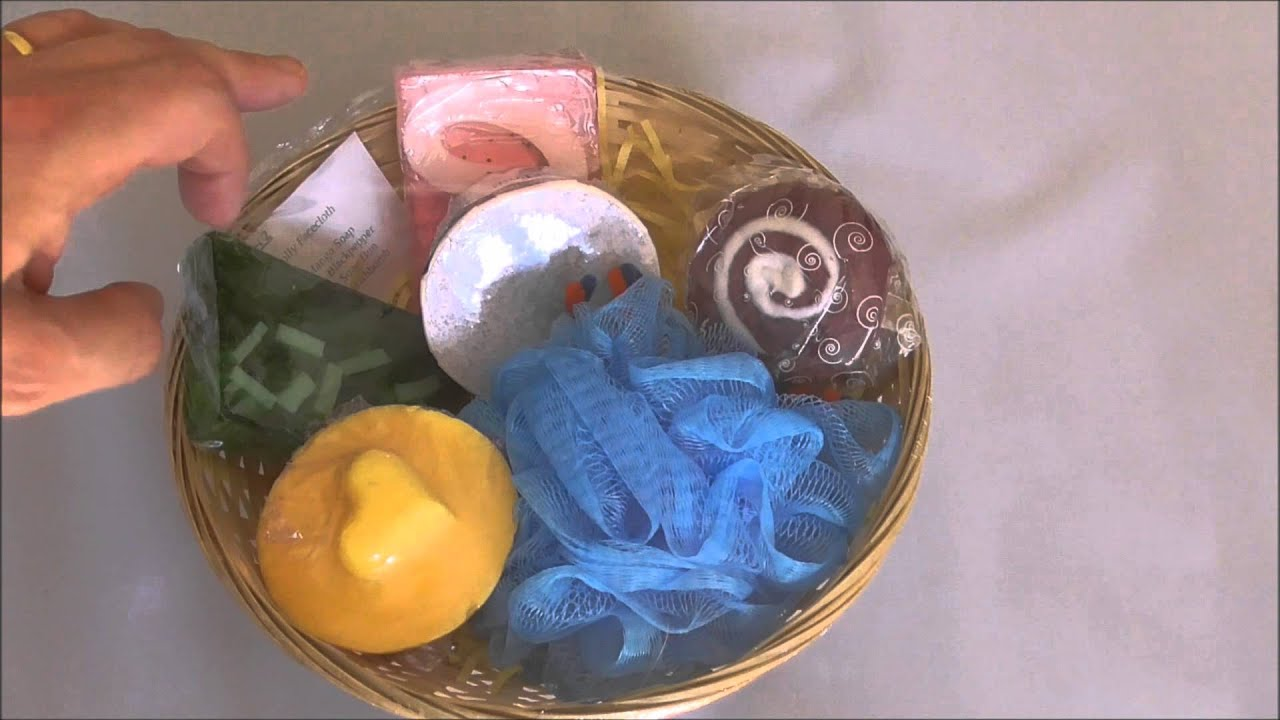 Handmade Soap / Toiletry Gift Baskets