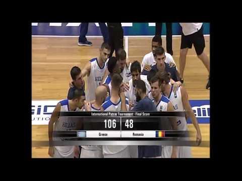 Εθνική Ανδρών: Δείτε το video με τα καλύτερα στιγμιότυπα του αγώνα Ελλάδα-Ρουμανία 106-48