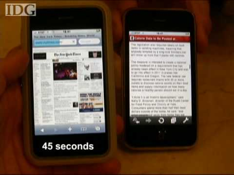 CTIA: Opera Mini web browser beats Apple's Safari in page load test