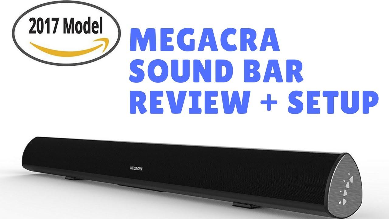 MEGACRA S9920 80 WATT Bluetooth 38 Inch Sound Bar Home Theater System TV Speaker
