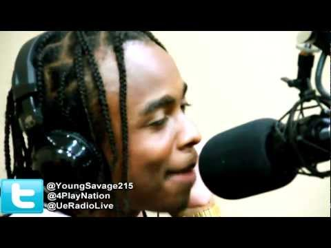 Young Savage goes IN (Freestyle) on 4-Play Radio ( UE Radio)