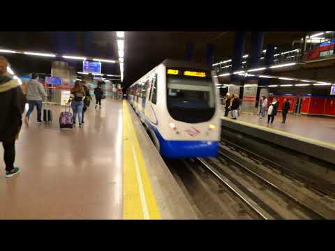 A Look At The Madrid Metro