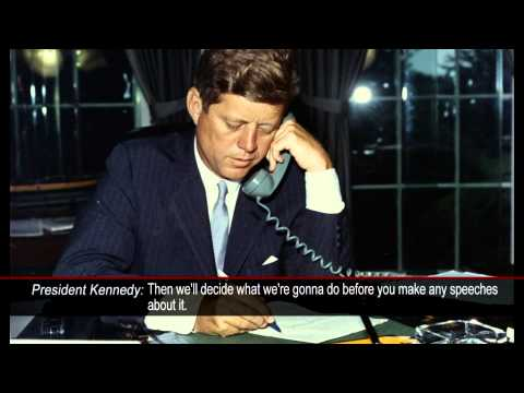 New Collection Listens in on JFK's Secret White House Tapes