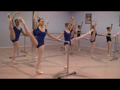 how to make a ballet barre out of wood