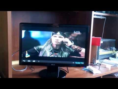 Планшет с разбитым экраном + старый монитор = Smart TV