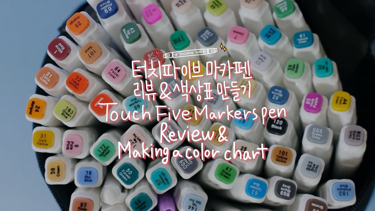 Touch Five Markers Review