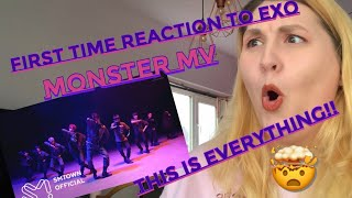 FIRST TIME REACTION TO EXO(엑소) - Monster MV (PT.7)