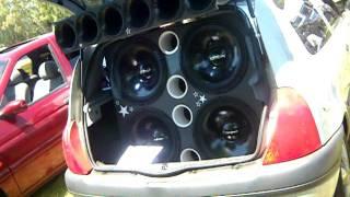 Clio Audio Extremo Trio Bomber en Corcel de Fierro 2011