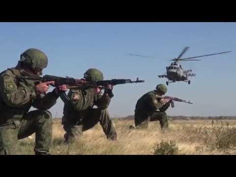 Операция по уничтожению склада боеприпасов условного противника в ходе КШУ на полигоне Прудбой