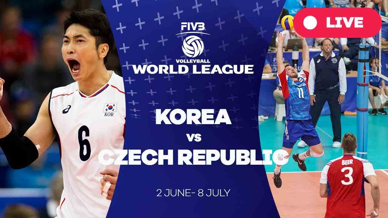 Korea v Czech Republic - Group 2: 2017 FIVB Volleyball World League