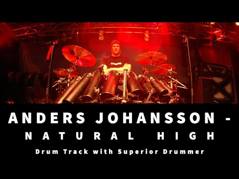 Natural High by Hammerfall - Drum Transcription
