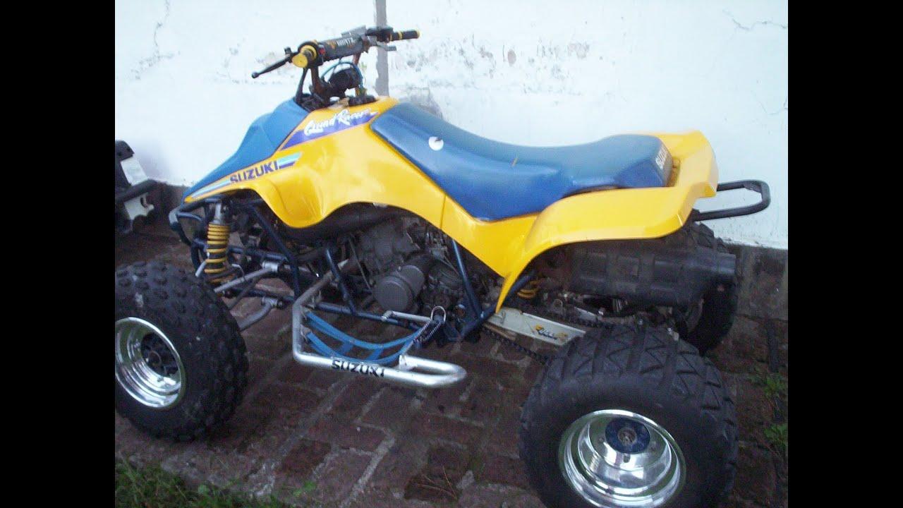 suzuki lt250 stunt stand wheelie quad ltr youtube