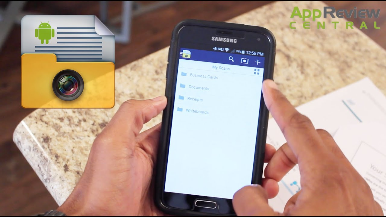Smart Doc Scanner - Android - App Review - YouTube