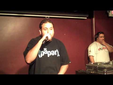 Hip Hop Karaoke NJ - 07.10.10 - Nas is Like (E-Swiss)