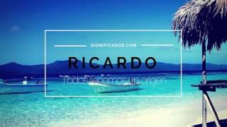 Ricardo - Significado del Nombre Ricardo