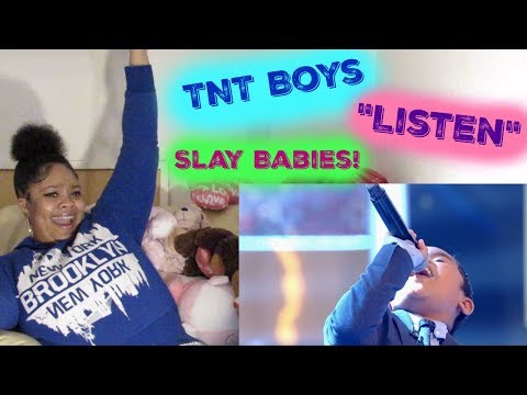 "TNT Boys  Beyonce&39;s ""Listen"" Reaction: Little Big Shots Slay Babies Slay"