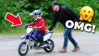 First Time Riding A Dirt Bike! ?| How I REALLY Feel About It