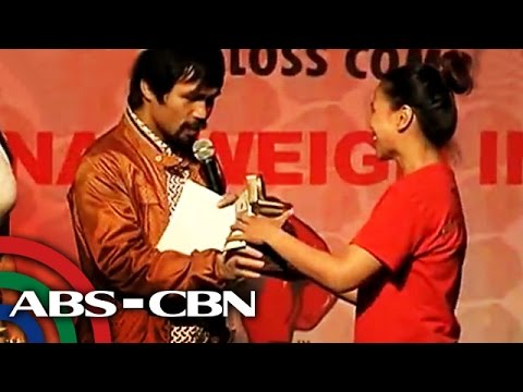 Why Pacquiao gave away more than P500,000?