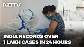 Covid-19 News: 1.15 Lakh Daily Covid Cases In India, Biggest Rise So Far