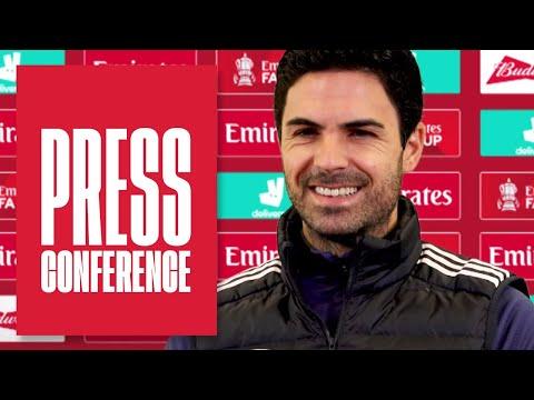 Aubameyang, Sokratis, Ozil, Balogun & the Emirates FA Cup | Mikel Arteta | Press Conference