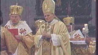 Papal Liturgy - Pope John Paul II celebrating Ukrainian Divine Liturgy