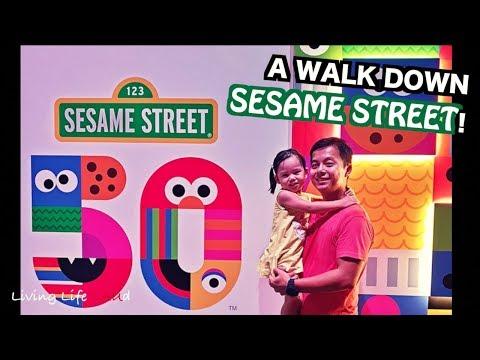 A WALK DOWN SESAME STREET (2019)!   UNIVERSAL STUDIOS SINGAPORE