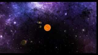 OpenGL planetary system exercise