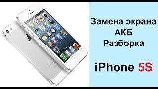 Разборка и сборка iPhone 5S, замена аккумулятора, дисплея, кнопки Home на iPhone 5 S | iExpert